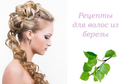 береза для роста и от выпадения волос