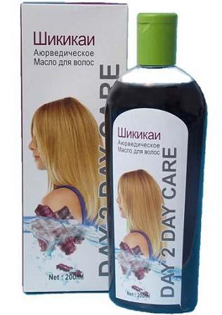применение масло шикакай для волос