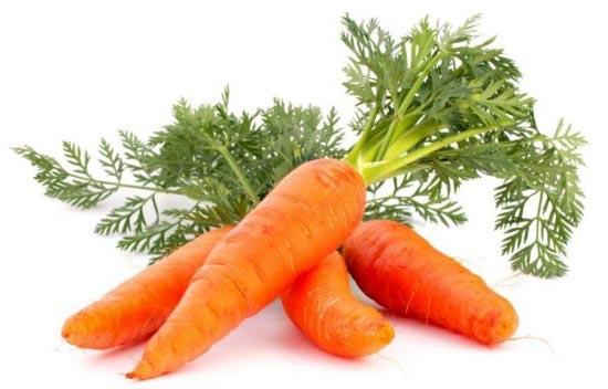 морковь для волос, в косметологии