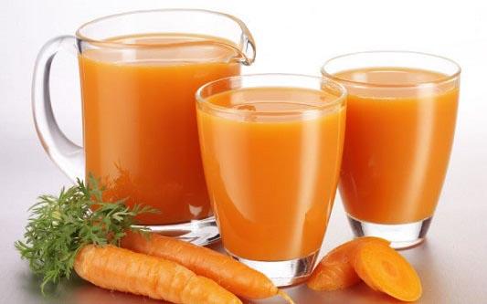 сок моркови для роста и укрепления волос