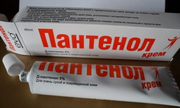 применение пантенола, крем пантенол для волос, д пантенол