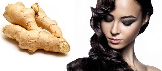 имбирь ополаскиватель, маски из имбиря, осветление волос имбирем