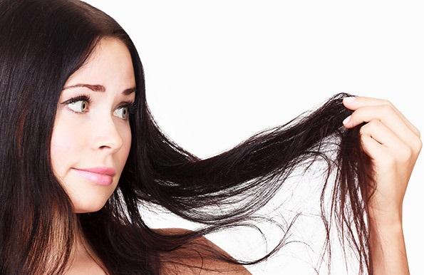 уход за жирными волосами, почему волосы жирные