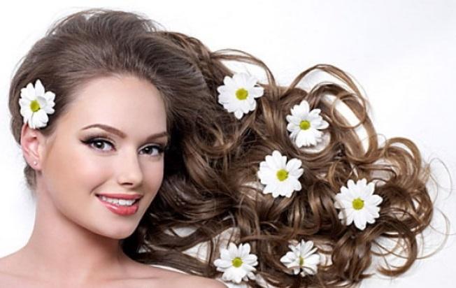 укрепляющая настойка из ромашки, настой для волос