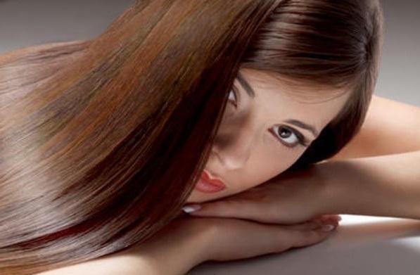 белая хна для укрепления волос, фото волос