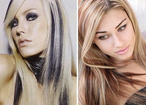 темное колорирование волос фото
