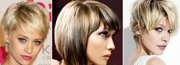 балаяж окрашивание коротких волос фото