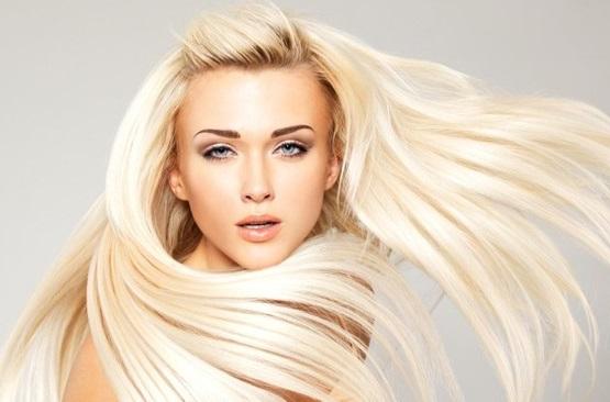 осветление волос белой хной, белый оттенок волос