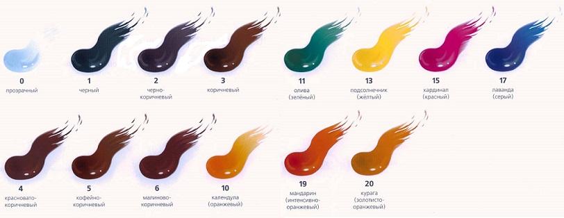 японская краска lebel палитра красок materia