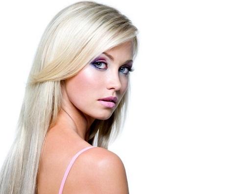 домашняя маска для светлых волос