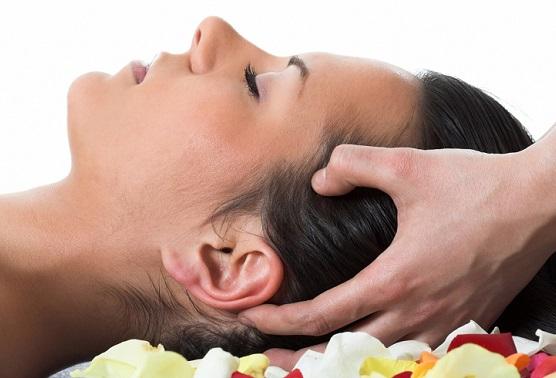 массаж головы солью от выпадения волос, массаж против выпадения волос