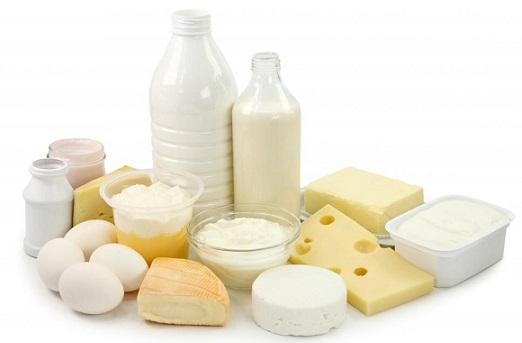 молочные продукты от выпадения, молоко, творог, сыр для волос