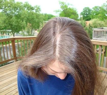 до окрашивание волос фото
