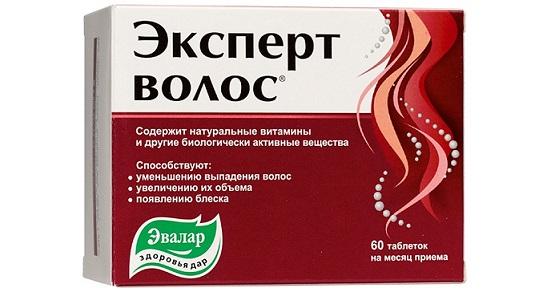 таблетки эвалар для волос, от выпадения волос