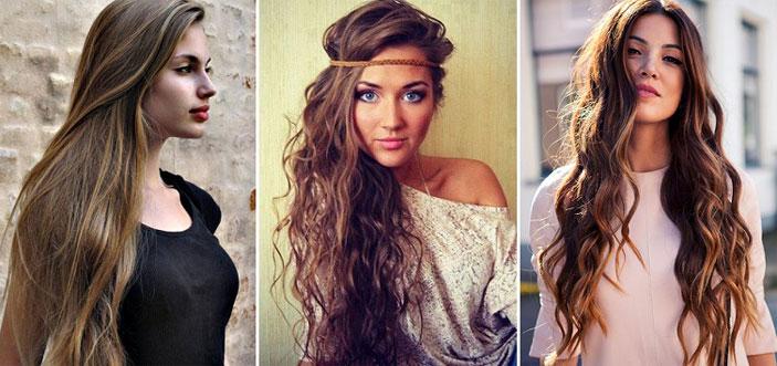 кому идут длинные волосы, фото