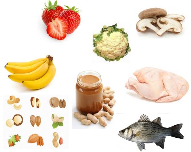 продукты против выпадения волос, продукты содержащие витамины