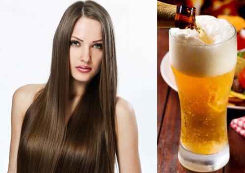 ополаскивать и осветлять волосы пивом, фото