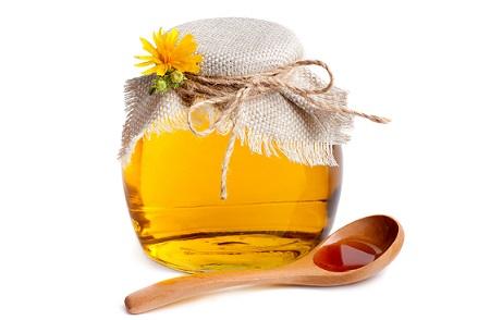 маска из сметаны и меда, мед для волос