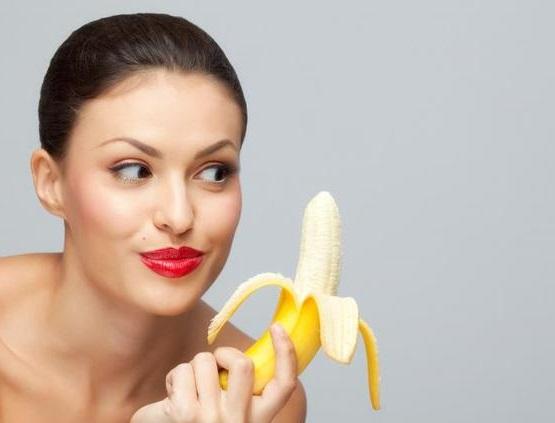 рецепты масок с бананом, банан для волос