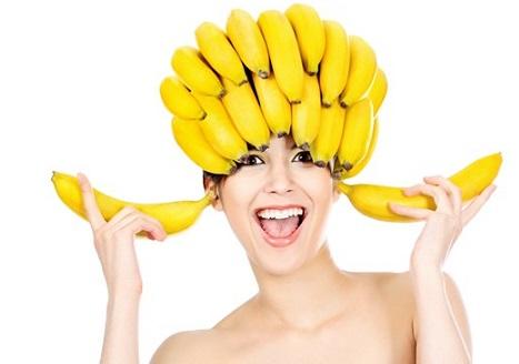 маска для укрепления волос из банана