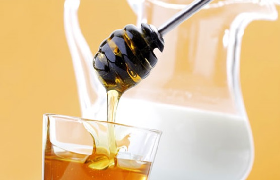 маска из кефира и мед