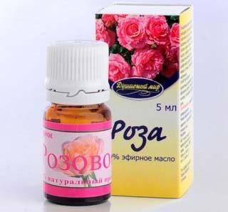 применение масло розы дамасской