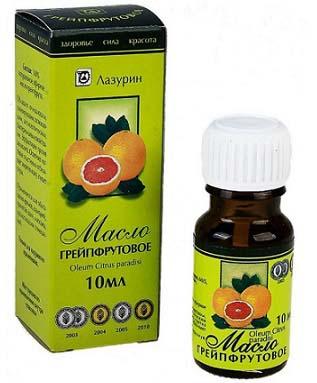эфирное масло грейпфрута в косметологии