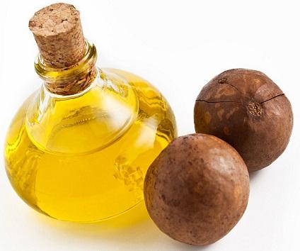 полезные свойства масла из макадамии для волос, состав масла из макадамии