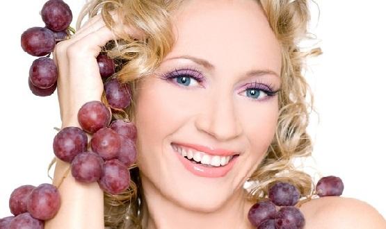 применения масла из виноградных косточек, виноград для волос