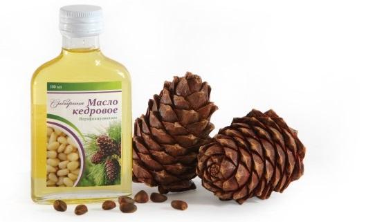 кедровое масло для волос, польза кедрового масла