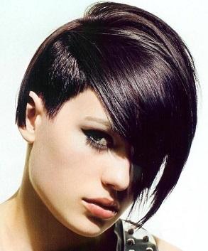 короткие тонкие волосы