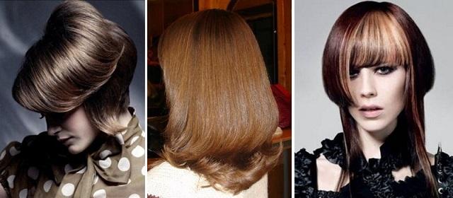 двойное каре на средние волосы фото