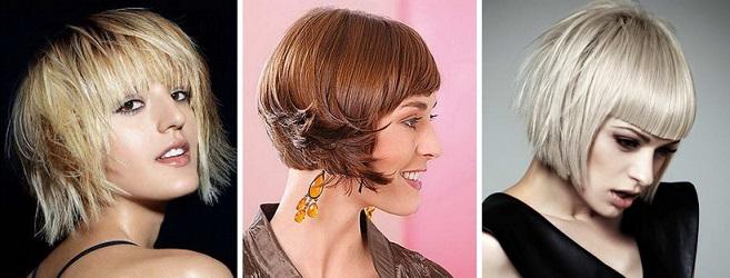 каскадное каре на средние волосы фото